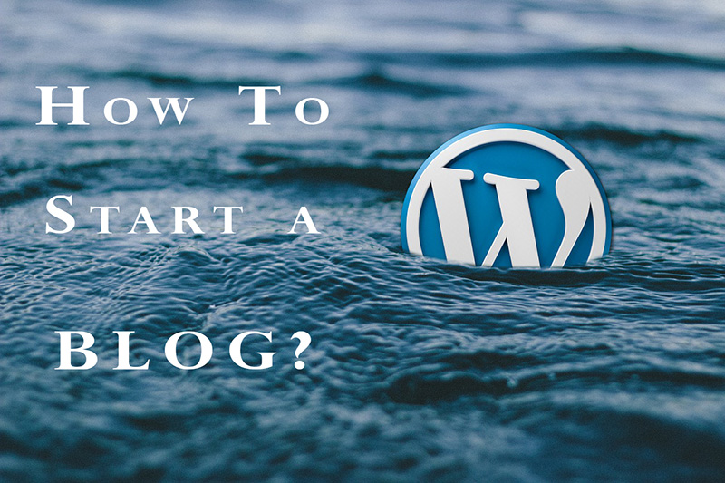how to start my own blog